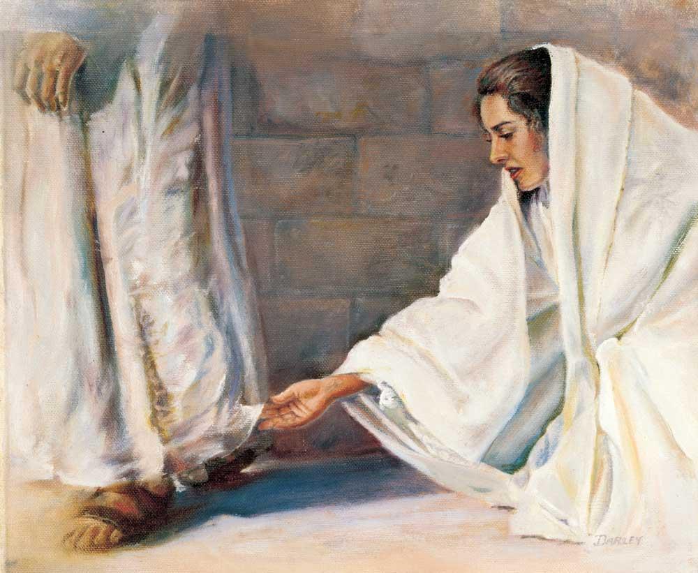 Woman Jesus Garments 01